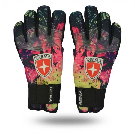 Wrilwind | Match gloves red pink yellow black green